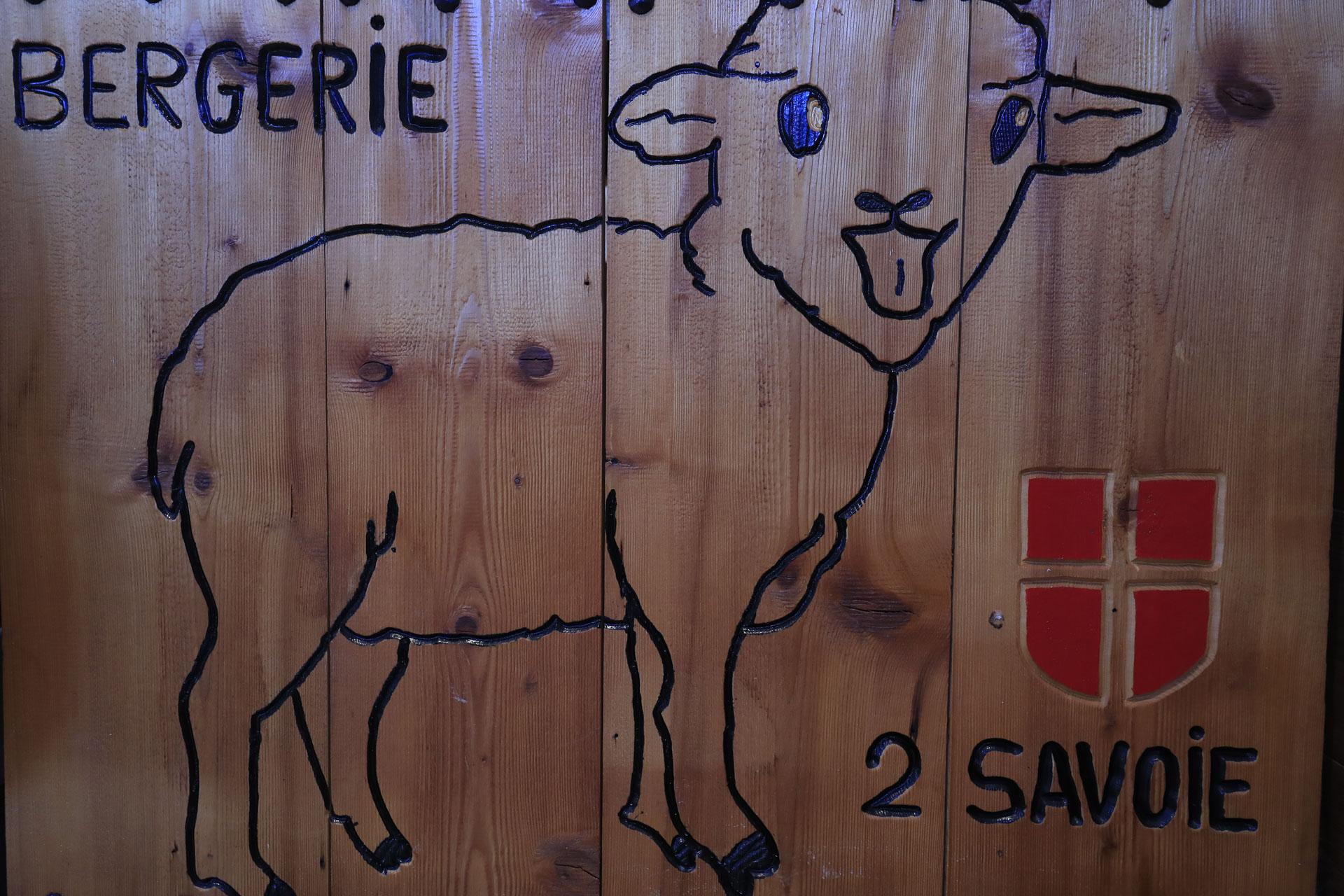 Dessin mouton pour la bergerie