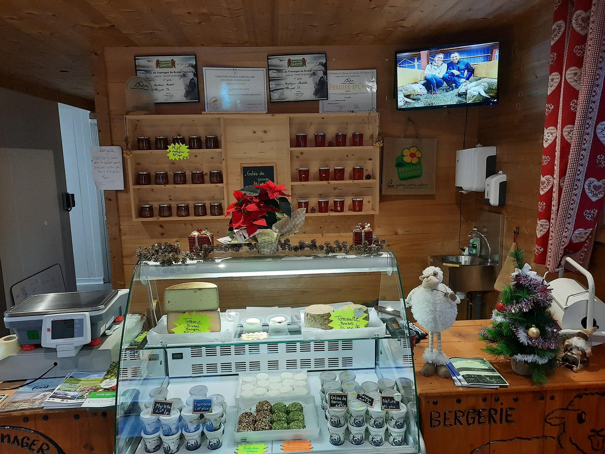 Le magasin de la bergerie des 2 savoie